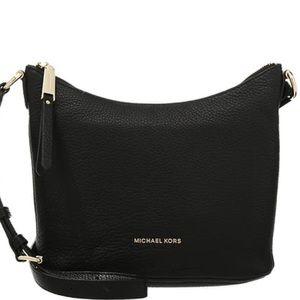 Michael Kors authentic black leather crossbody bag